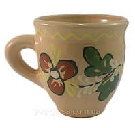 """Чашка """"Льонок"""" 400 мл глиняна (глазурована) в асортименті"""