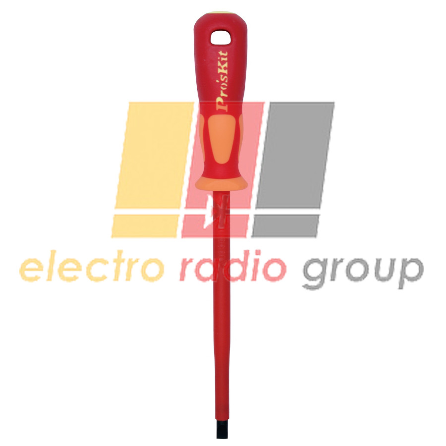 Викрутка шпицева Pro'sKit  SD-800-S8.0, SL8.0x1.75, діелектрична