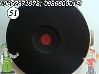 Тэн быстрого нагрева электрической плиты 2 кВт, камфорка электрическая повышенной мощности, 180мм