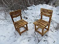 Деревянные стулья для дачи. Мебель для дачи.