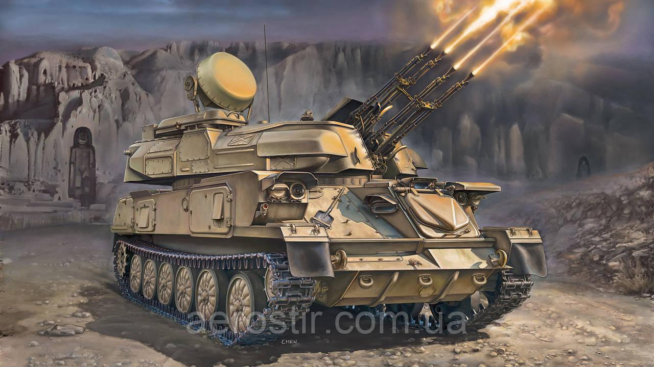 Зенитная установка 'ШИЛКА'  1\35  HONG 5001