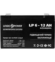 LogicPower LP6-12 AH АКБ Герметичный свинцово-кислотный аккумулятор SLA