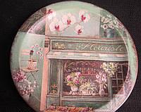 Тарелка сувенирная (декупаж)