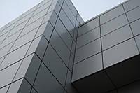 Вентилируемый фасад из металла (монтаж)