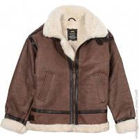 Куртка Alpha Industries Sherpa B-3 Brown, S (MLB21012A1)
