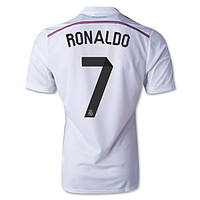Футбольная форма Реал Мадрид Роналдо (Ronaldo) 2014-2015 Домашняя, фото 1
