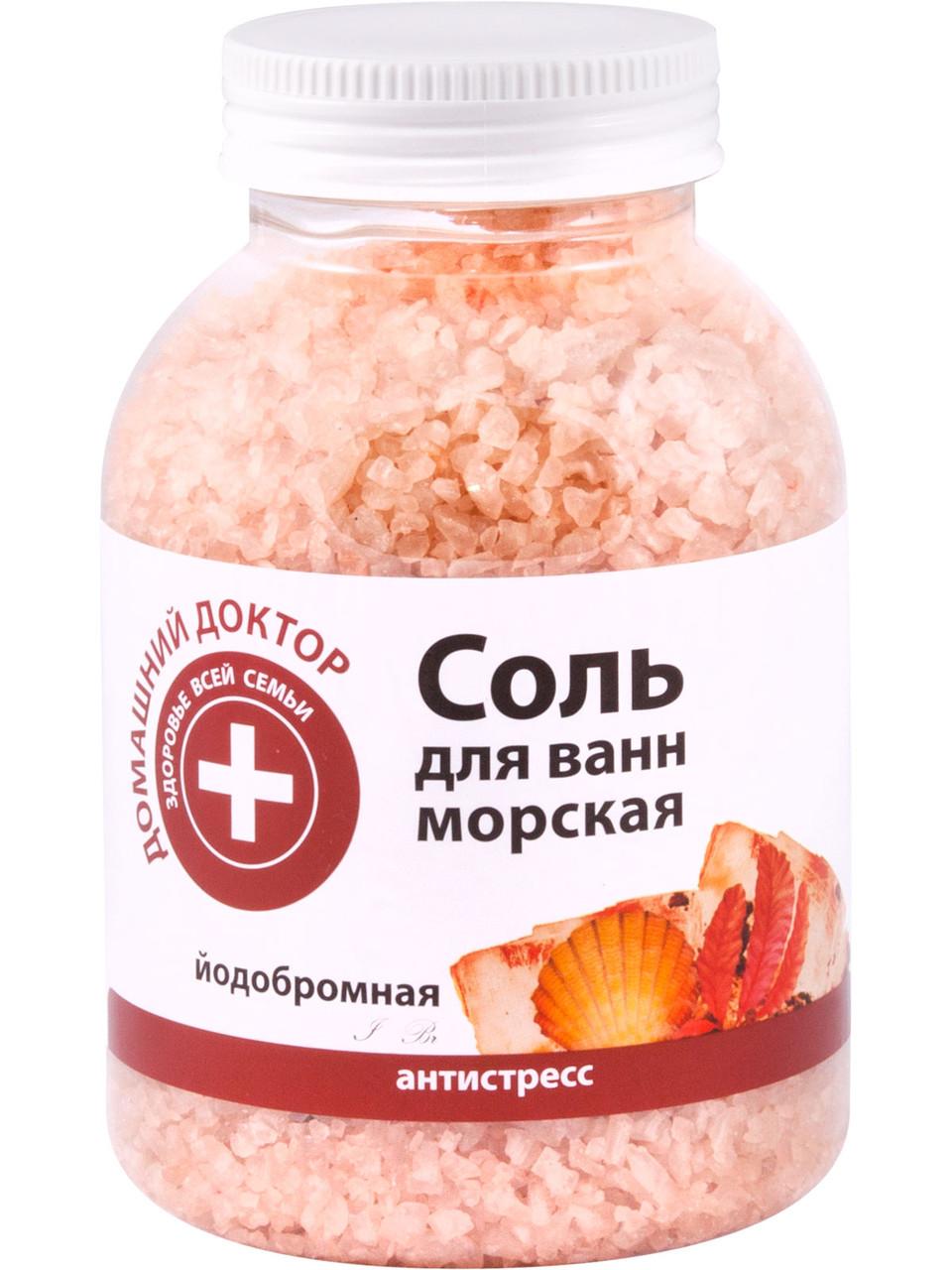 "Соль для ванн йодобромная антистресс ТМ ""Домашний Доктор "" , 1000 г."