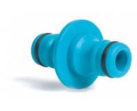 Коннектор двойник для быстрого подсоединения шлангов Cellfast 51-200, фото 1
