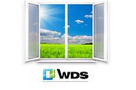 Двухстворчатые окна 4х-камерка 1400х1300