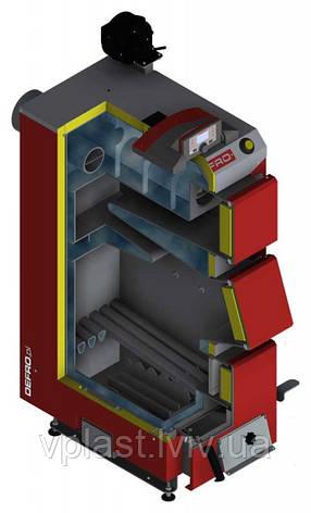 Твердопаливний котел DEFRO KDR PLUS 3 40 кВт, фото 2