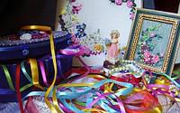 Ленты для вышивки и декора