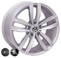 Литые диски Allante 5037 R17 W7.5 PCD5x112 ET45 DIA57.1 (silver)