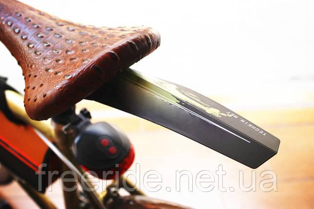 Велокрыло - пластина, щиток брызговик быстросъемный, фото 2