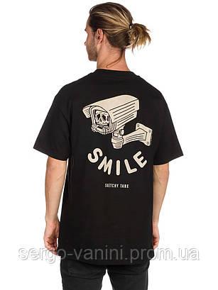 Футболка мужская с принтом Sketchy Tank Smile