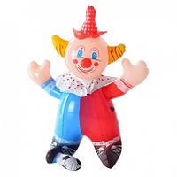 Надувная игрушка MS 0649 Клоун, пищалка, 35 см.