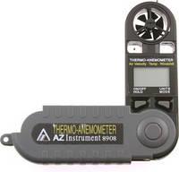 Измеритель скорости и температуры воздушного потока, термоанемометр AZ 8908