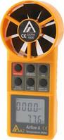 Измеритель скорости и температуры воздушного потока, термоанемометр AZ 8906