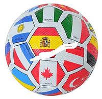 _Мяч футбольный 0003 ФЛАГ-4 резина