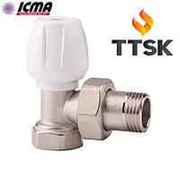 Ручной вентиль простой регулировки,прямой  ICMA (арт. 803)