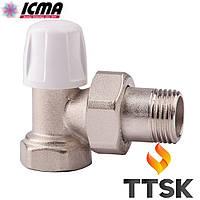 Угловой нижний вентиль  ICMA (арт. 805)
