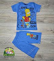 Летний костюм для мальчика Bart Simpson
