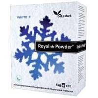 Royal Powder White 1 кг. Концентрированный бесфосфатный стиральный порошок