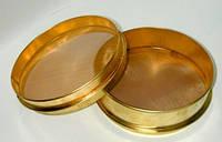 Сито СЛ-200-1,0мм, Н:50мм, металлотканное, оцинк.