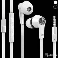 Вакуумные стерео наушники Xiaomi Piston (белые)