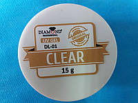 Гель для наращивания ногтей Diamond прозрачный,15 мл