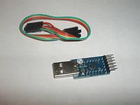 Адаптер USB-to-UART на CP2104 RS232 TTL 6PIN Module CP2104 Модуль последовательного преобразователя