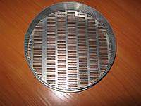 Сито СЛ-200-2,6*20мм для подсолнечника, Н:50мм, металлопробивное щелев, нерж./поверка