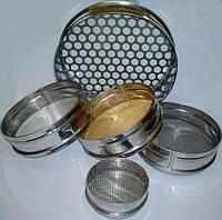 Сито СЛ-200-5,0мм, Н:50мм, металлопробивное, нерж./поверка