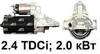Стартер на Ford Transit 2.4 TDCi (06-12) Форд Транзит. Новый. 12 зубьев. S0123 - AS Poland.