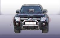 Кенгурятник Mitsubishi pajero 2007 (Защита переднего бампера )