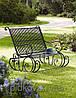 Кованые скамейки для сада и парка
