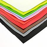 Фоамиран зефірний СИНІЙ, 50x50 см, 1 мм, Китай, фото 2