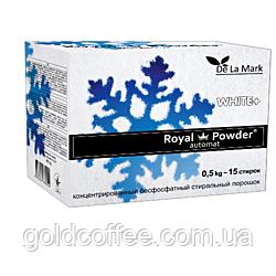 Royal Powder White 0,5 kg. Концентрований безфосфатний пральний порошок