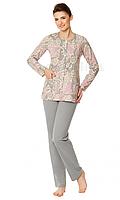 Жіноча піжама з довгим рукавом Wadima 104349