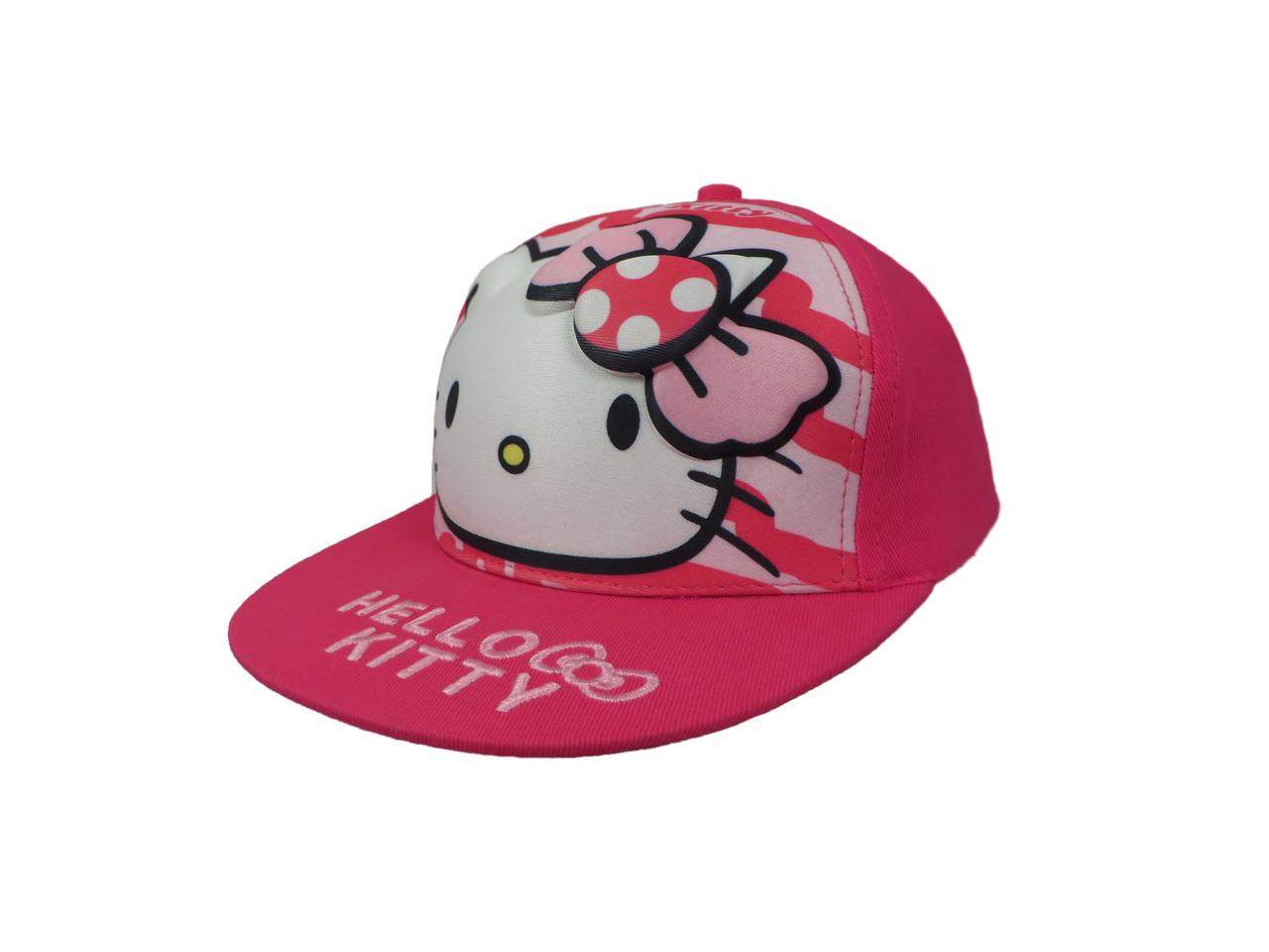 Кепка розовая Hello kitty