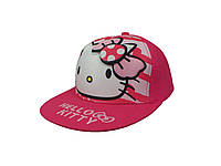 Розовая кепка Hello kitty