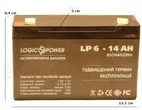 MSS 640 6V 4Ah АКБ Герметичный свинцово-кислотный аккумулятор SLA