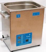 Ванна ультразвуковая ГРАД 120-35 (12л, 325х265х360)