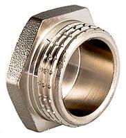 Заглушка латунная никелированная НР Ду15