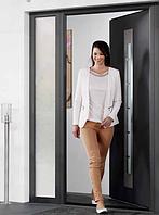 Алюминиевые входные двери для дома