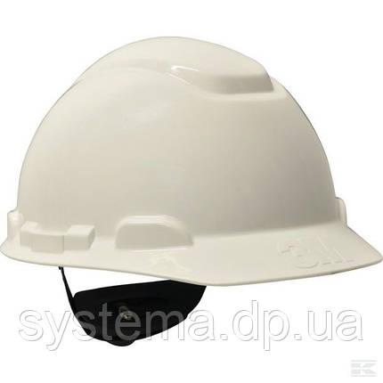3M™ H700С-VI Защитная каска (защитный шлем) с штифтовой застежкой, белый, фото 2