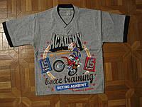 Детские летние футболки для мальчика 98-116 см Турция
