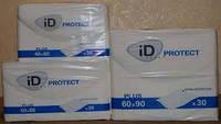 Пеленки гигиенические ID Protect Plus 40х60см 30шт в упаковке iD Expert (Бельгия)
