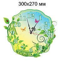 Часы настенные Горошинки