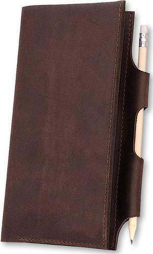 Кожаный надежный картхолдер BlankNote BN-TK-3-o орех