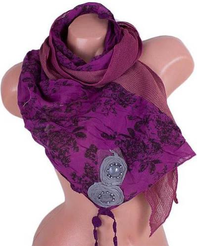 Чудесный женский шарф 180*35 см ETERNO (ЭТЕРНО) ES0206-16-1